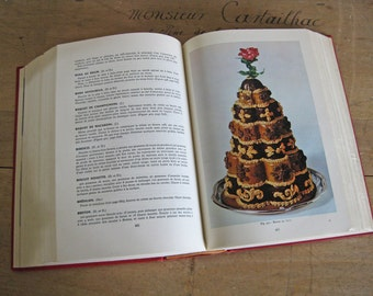 """1950s Classic French Cookbook """"L'Art Culinaire Francais"""" The Art of French Cookery"""