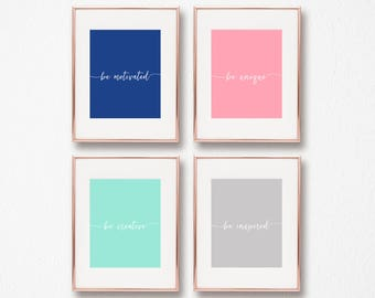 8x10 Motivational Prints, Office Art, Wall Art, Digital Download, Arbor Grace Collections