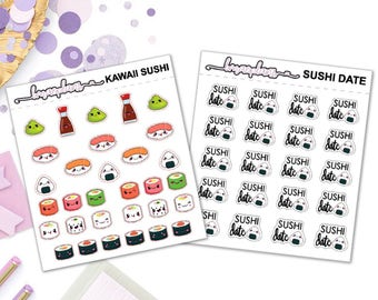 Sushi - Planner Stickers eclp happy planner