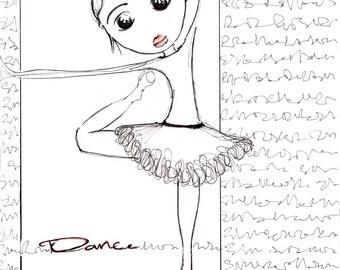 A4 Print 'Dance'