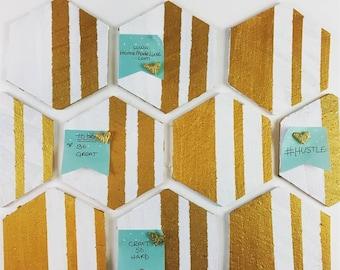 DIY Hexagon Cork Board Project kit