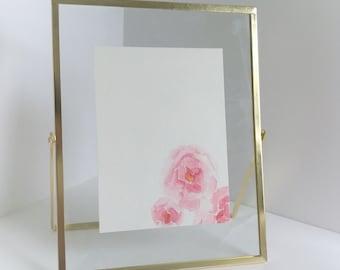 "Original nature art, Watercolor art, Nature art, Home decor, Watercolor, 4.5""x6"", Customize"
