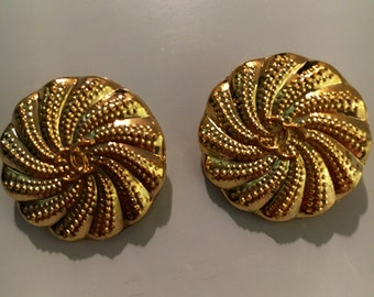 Vintage Chanel Buttons set of 2