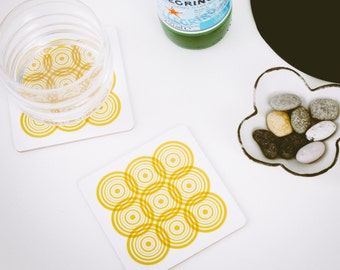 Sella Coaster - Yellow