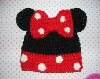 Crochet fly veil Minnie