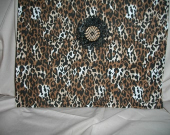 Leopard print Makeup Purse