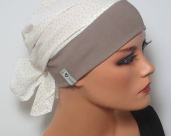 Head scarf Hat/CHEMO Hat/TURBAN high comfort during chemotherapy hair loss cancer alopecia boating convertible driving