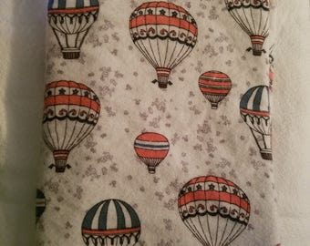 Hot Air Balloon Baby Blanket