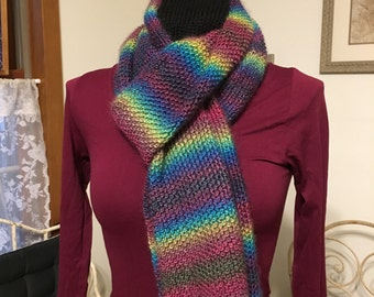 Homemade Multicolor Scarf