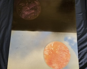 Day and Night SprayPaint Art