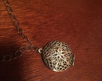 Enchanted jewel filled unique locket