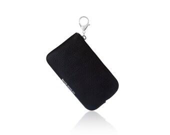 Zip Coin Purse - Beta (Black/Silver)