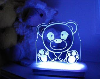 Hugs the Teddy Bear Night Light