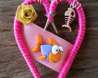 Fish Bone Ornament