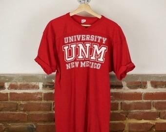 Vintage 80s Champion University of New Mexico Jersey