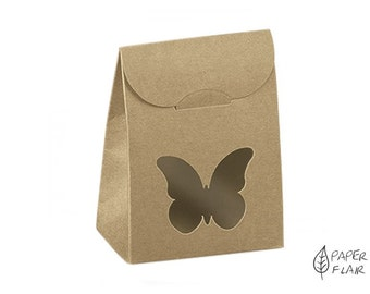 10 boxes gift boxes Butterfly nature (FO-2)