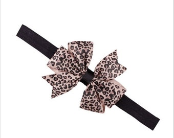Baby hair strap with bow