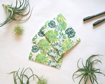 Monstera Note Card