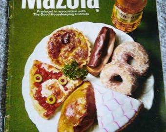 Vintage Mazola Recipe Booklet.