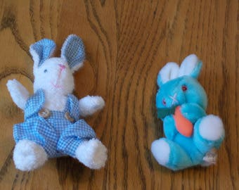 small stuffed Easter bunnies