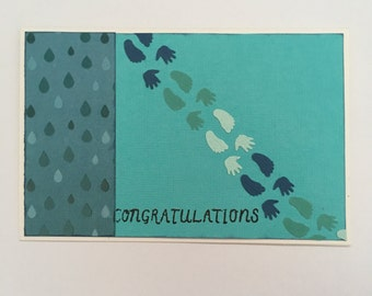 Handmade Card - Congratulations (C4)