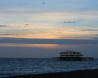 Brighton Sunset Print