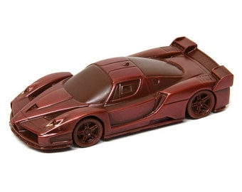 "Chocolate car  ""Ferrari FXX"" Handmade Gift/Sport car/for Her/for Him/Mens Gift/Dad/Husband/Brother/Boyfriend"