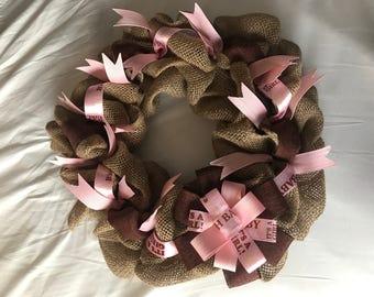 Its a girl! Mini wreath