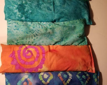 Lavender and Flax Seed Aromatherapy Healing Eye Pillow charged with Reiki Healing Energy