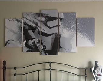 5 Panel Canvas Wall Art