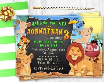Lion King Birthday Etsy