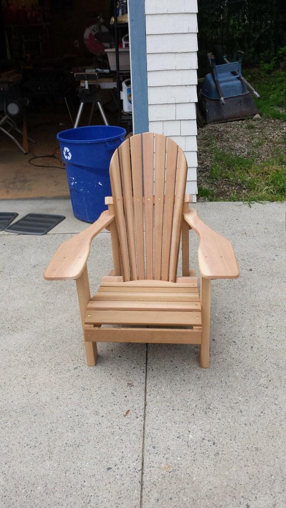 western cedar adirondack chair