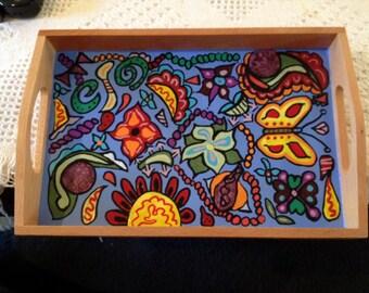 Funky Small Tray