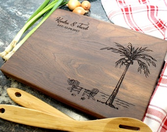 Personalized Cutting Board - Engraved Cutting Board, Custom Cutting Board, Housewarming Gift, Wedding Gift, Engagement, Anniversary (035)