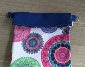 Bag pouch supplied strap