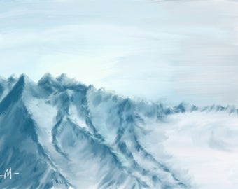 Arctic Mountain Wind