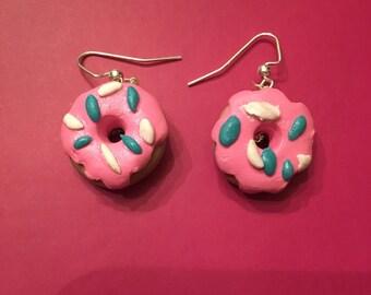 Handmade Doughnut Earrings