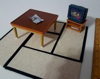 Miniature Tatami Mat Set