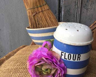 French vintage flour sifter shaker