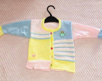 Boys and Girls Knitted Cardigan