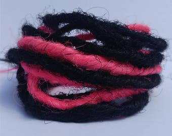 Fake Dreads,Faux Dreads,Festival Hair,Cyber Goth,Cyber Punk,Fake Dreadlocks,Synthetic Dreads,Dreadlock Extensions,Dread Falls,Steampunk,Goth