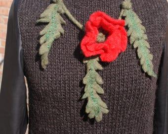 Knitted dress / Вязаное платье