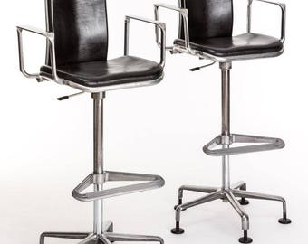 Two Supporto No. 1 architects chairs 20th Century