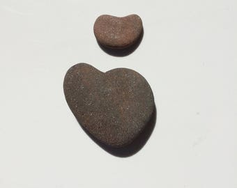 Two Heart Shaped Rocks