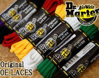 Authentic Replacement Dr Martens Shoelaces - over 50 different designs available