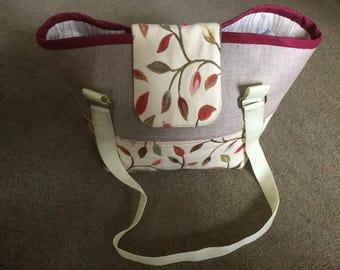 Beautiful handmade shoulder bag