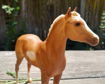 Breyer Model Horse Foal Golden Joy // 90s Collectible Toy // Horse Lover Gift