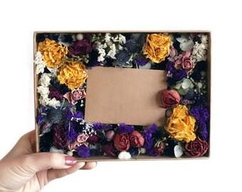 Dried Flower Gift Card Box