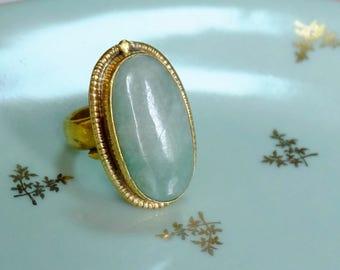 Guatemala - Misty jade ring