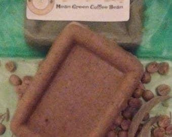 Mean Green Coffee Bean Soap